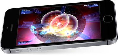 iPhone SE gaming