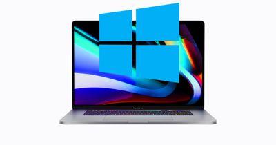 16 inch macbook pro windows