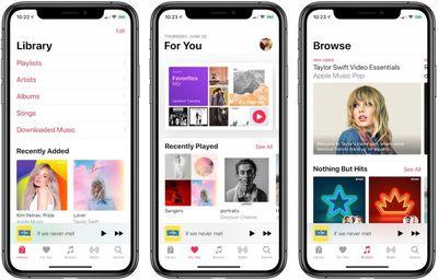apple music june 2019