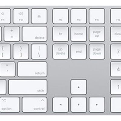 apple magic keyboard with number pad keypad