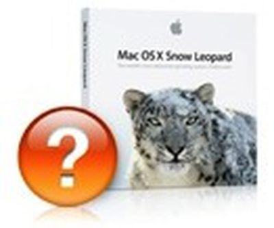 snow leopard question