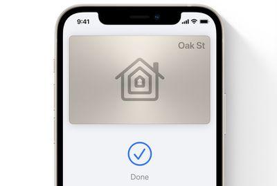 ios 15 wallet app home key