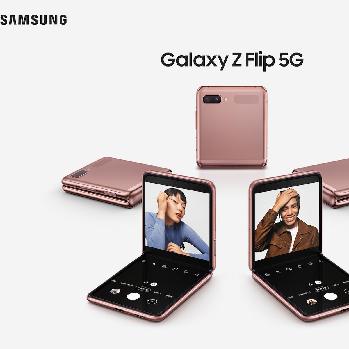 Samsung Announces Galaxy Z Flip 5g Smartphone Starting At 1 449 99 Macrumors