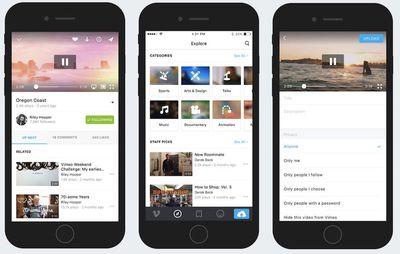 vimeo iOS