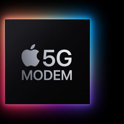 Apple 5G Modem Feature