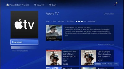 playstation apple tv