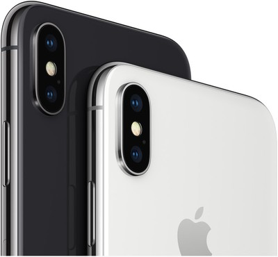iphone x black white