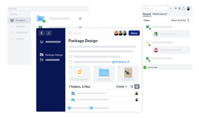 desktop new dropbox app