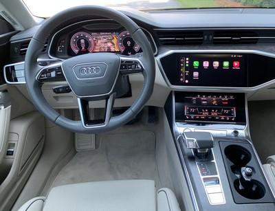 audi a7 cockpit
