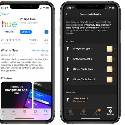hue power outage update