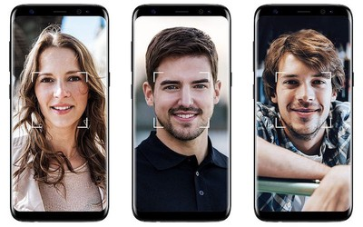 galaxy s8 facial recognition