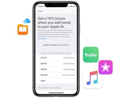 apple bonus credit may 2019