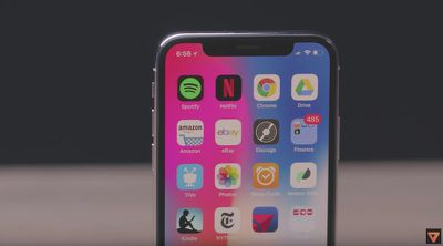 the verge iphone x