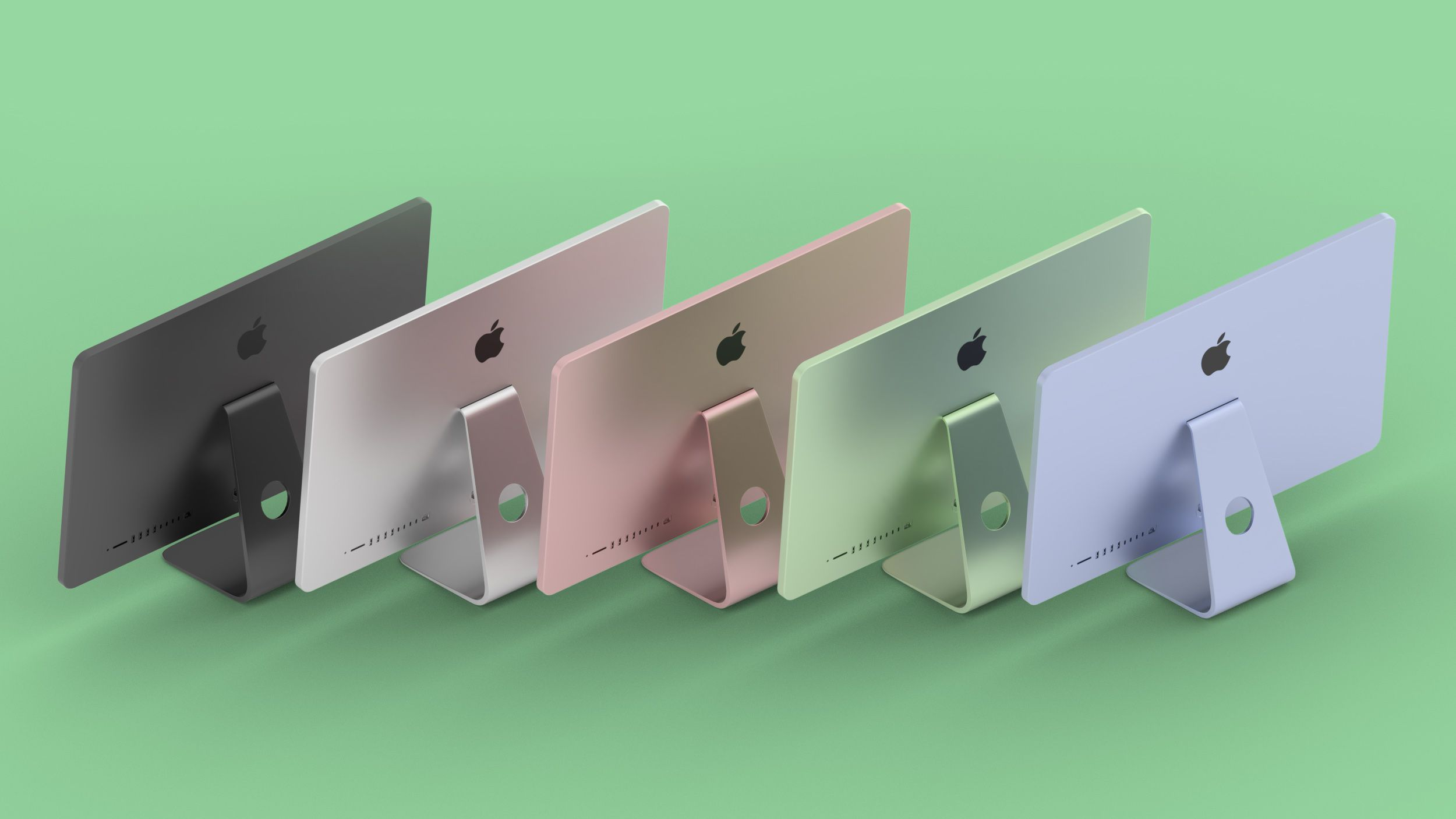 photo of Reliable Leaker Hints Redesigned Colorful iMac to Debut at 'Spring Loaded' Event image