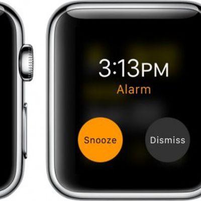 Apple Watch Timer Alarm Stopwatch