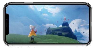 iphone x sky game