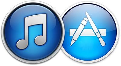 mac app store itunes old logos
