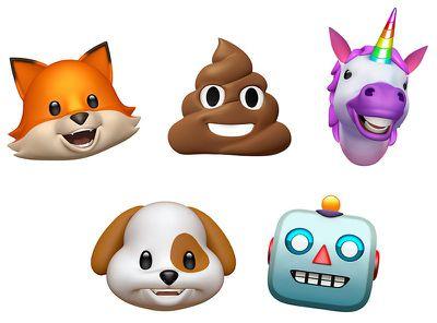 animoji characters