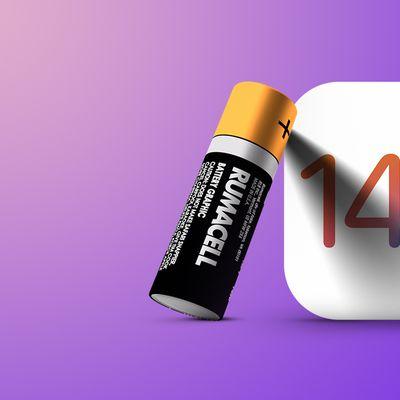 ios 14 battery fix purple