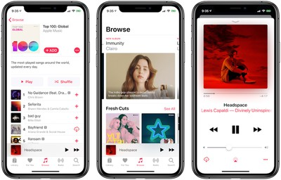 apple music august 2019