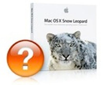 snow leopard question