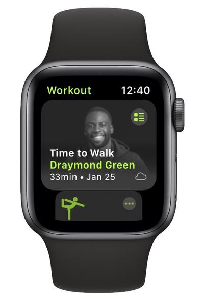 apple time to walk draymond green