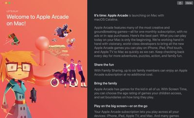 apple arcade feature mojave