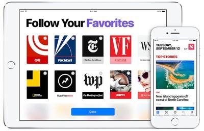 apple news ios 11