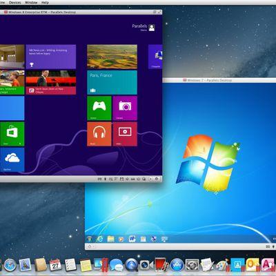 parallels windows 8