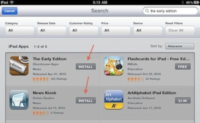 105712 ipad app store install buttons