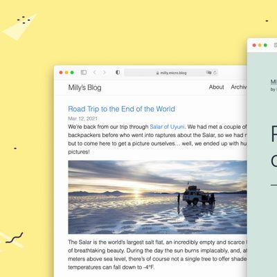 ulysses Blog Publishing