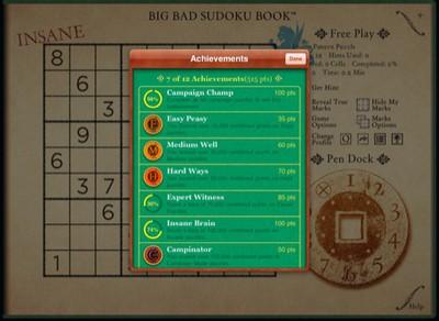 133150 big bad sudoku book ipad game center