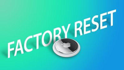 AirTag Hands Factory Reset Feature
