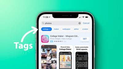 iPhone 12 App Store Tags Feature