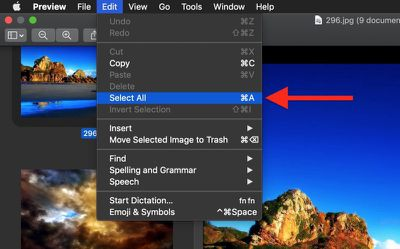 how to batch convert images in preview 03