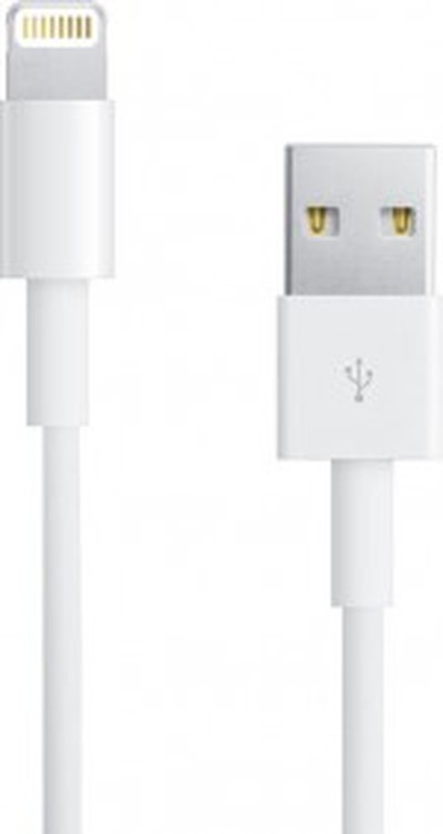 lightning cable vertical