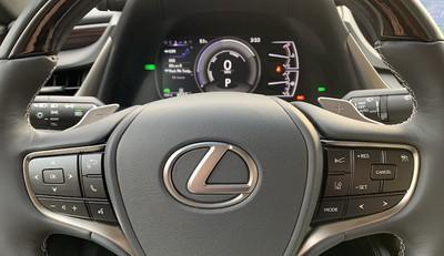 lexus es steering wheel