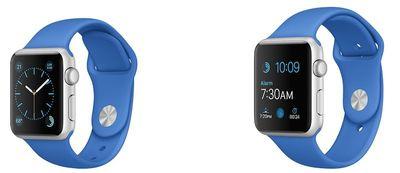 apple watch sport royal blue