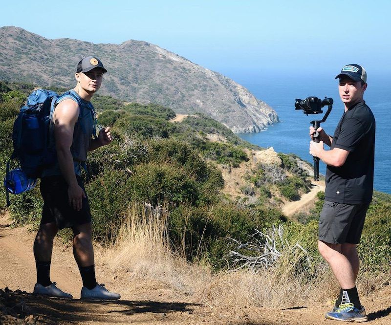 Trio Of Friends Make Challenging Hike Across Catalina Island To