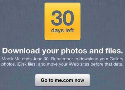 mobileme shutdown 30 download