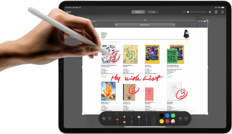 iPad Pro 12.9 Drawing Experience