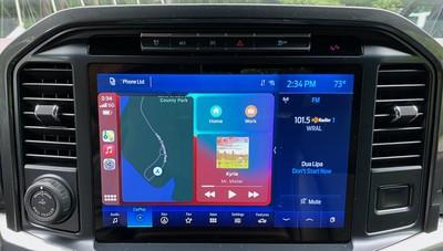 2021 ford f150 carplay dashboard
