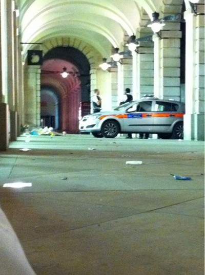 covent garden robbery police