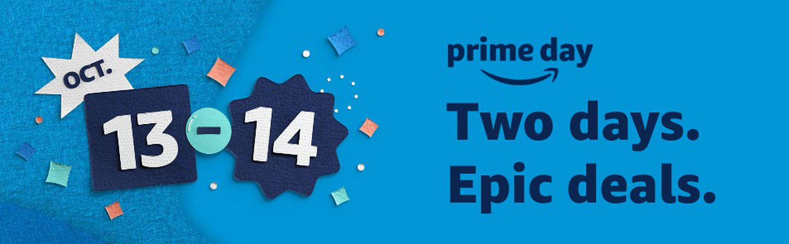 Amazon's 48-Hour 'Prime Day' Event Takes Place October 13 and 14 - MacRumors