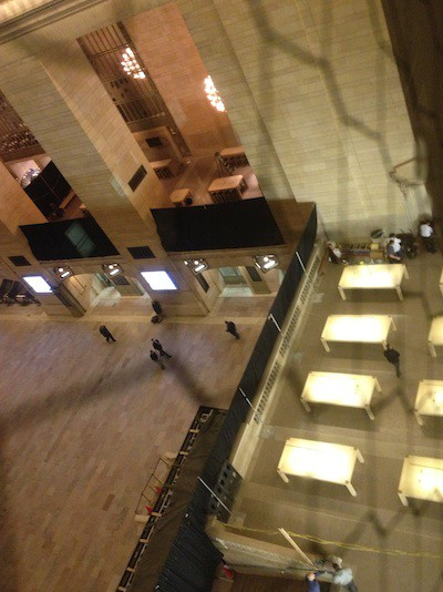 apple store grand central overhead