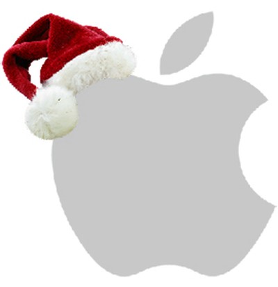 apple-christmas-hat