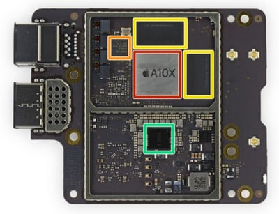 apple tv 4k logic board