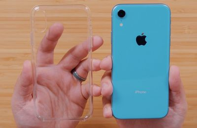 iphone xr clear case off