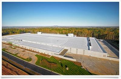 apple maiden data center aerial