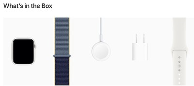 apple watch series 5 edition whats in box